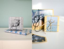 Upcycling-Giftwrapping