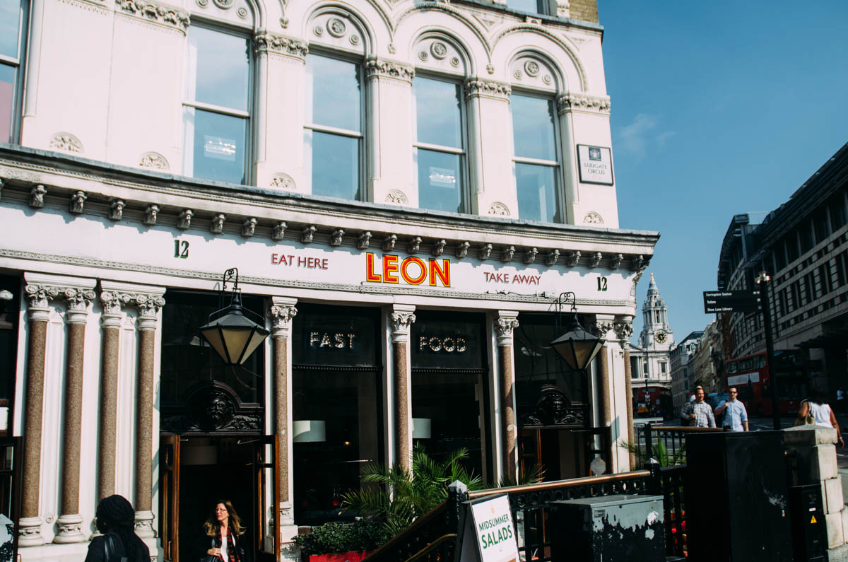 LEON Restaurant in London