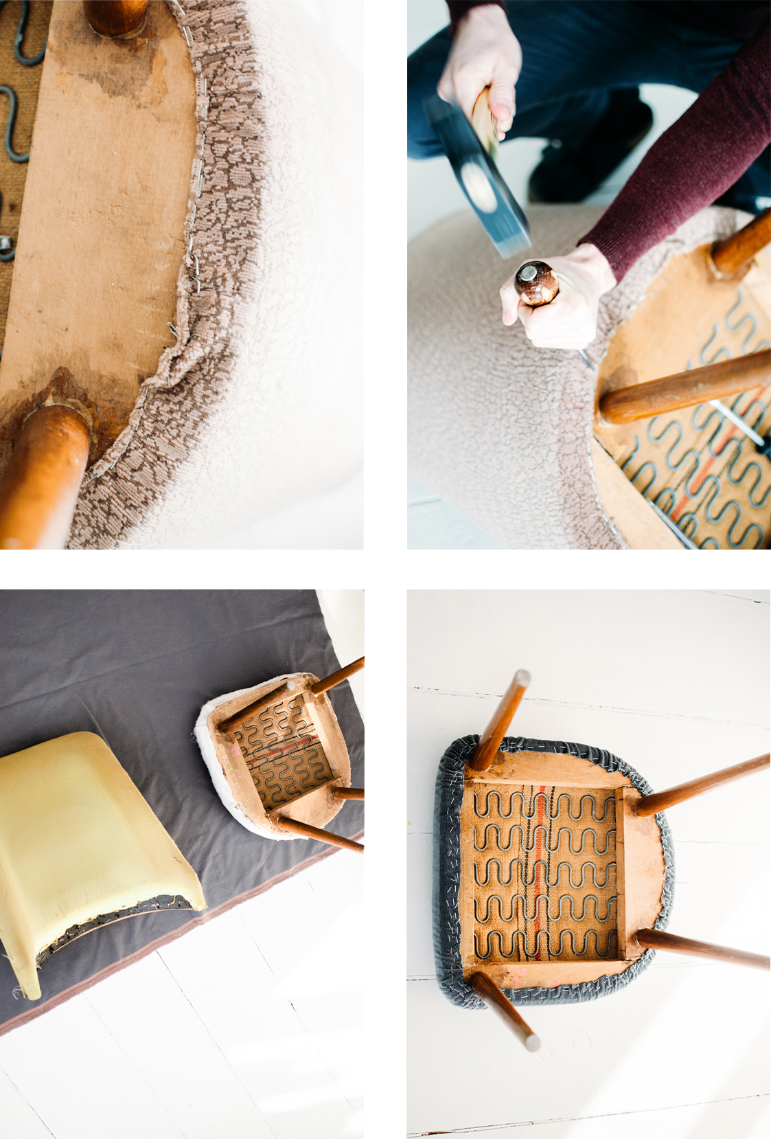 DIY Polstern Sessel